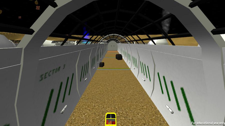 Virtual Reality Space Maze, Interactive Application Design by Ryan Sellick and Jon Sheldon