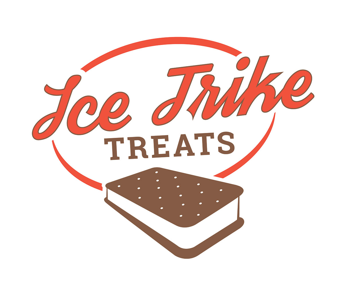 Ice Trike Treats Logo Design by Ryan Sellick