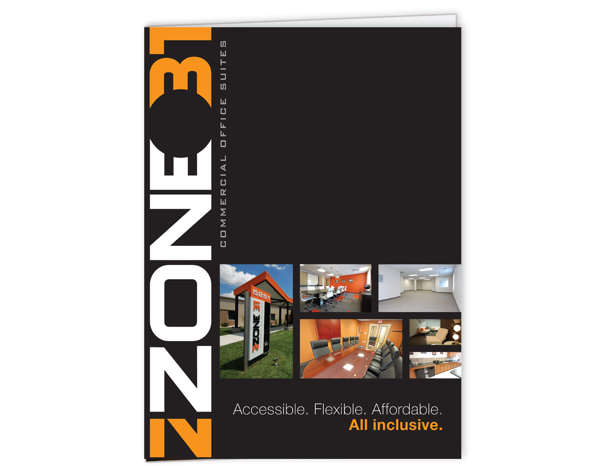 Zone 31 Folder Front Cover Graphic Design for Print by Ryan Sellick